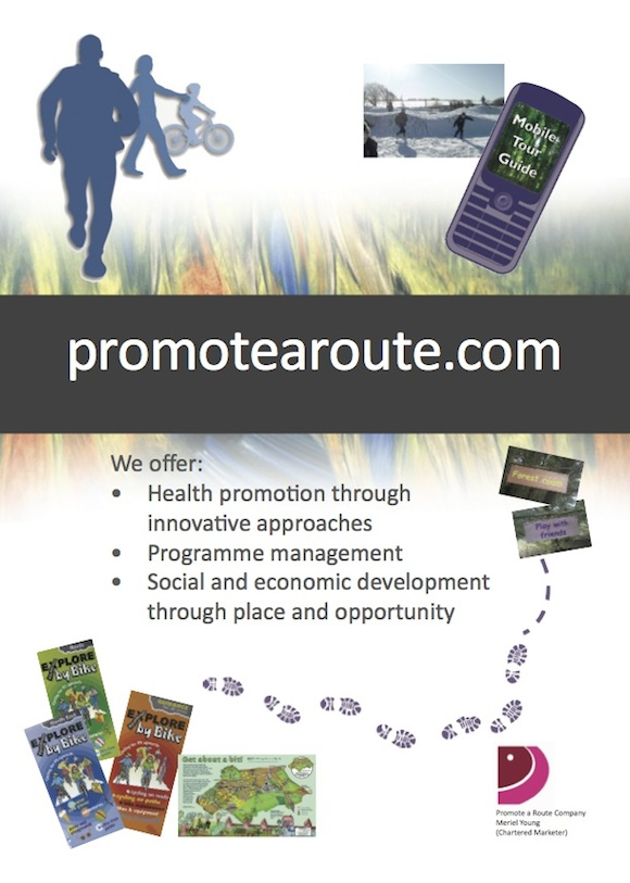 promote a route poster copy